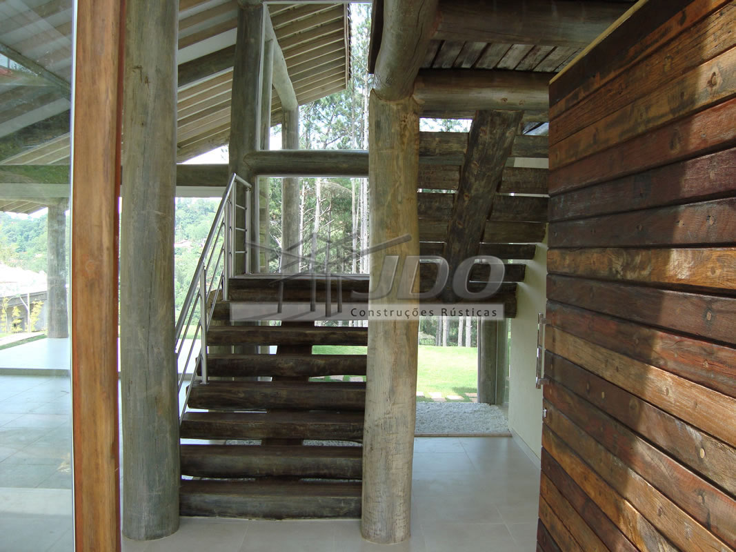 escadas rusticas jardins : escadas rusticas jardins: Escadas de eucalípto, escadas de madeira, escadas rústicas, escadas