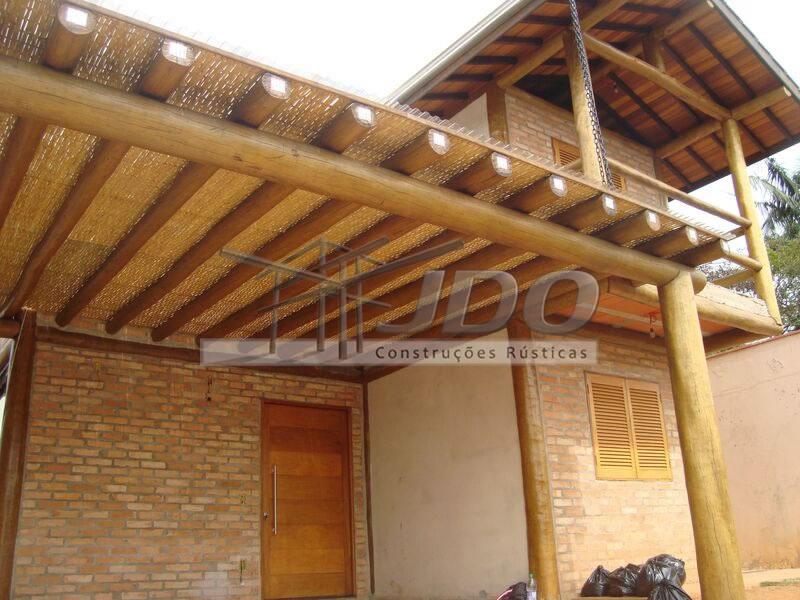 Extremamente JDO - Construções Rústicas - Esteira de Bambu, Forro de palha  TK87