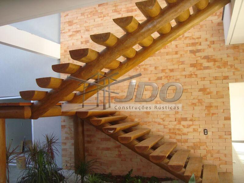 JDO Construções Rústicas - Escadas de eucalípto, escadas